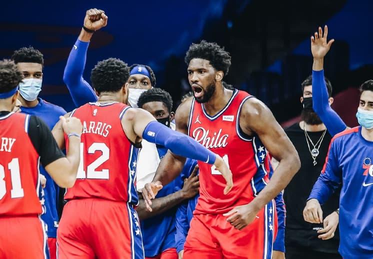 En un duelazo los Sixers acabaron con la racha de Lakers