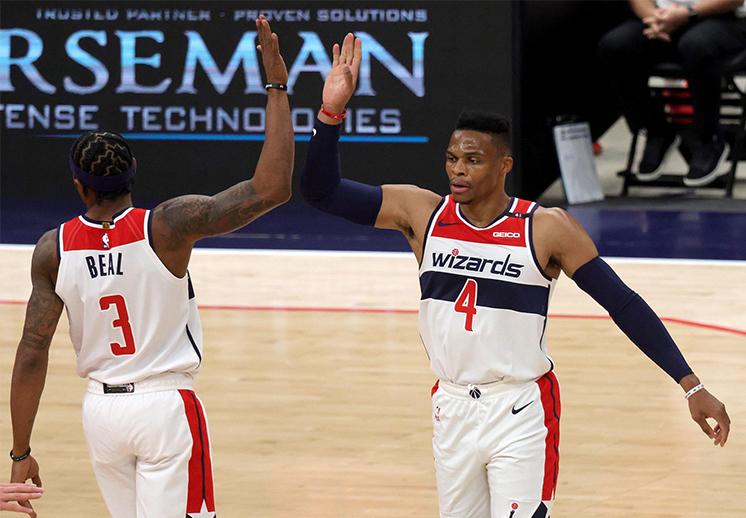 Los Wizards consiguieron una victoria dramática frente a los Nets