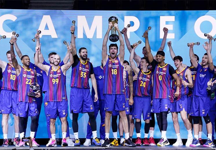Barcelona se quedó con la Copa del Rey en la ACB