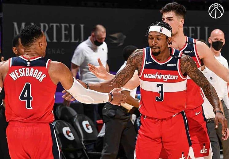 Bradley Beal y los Wizards le robaron el triunfo a los Lakers