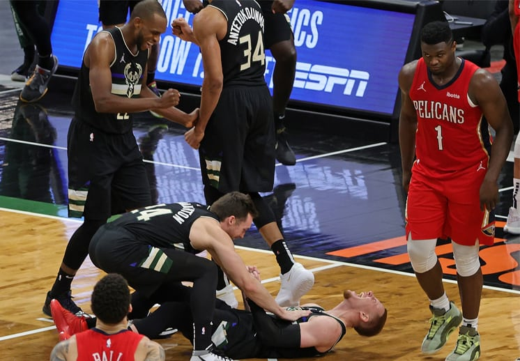 La desastrosa última jugada de los Pelicans