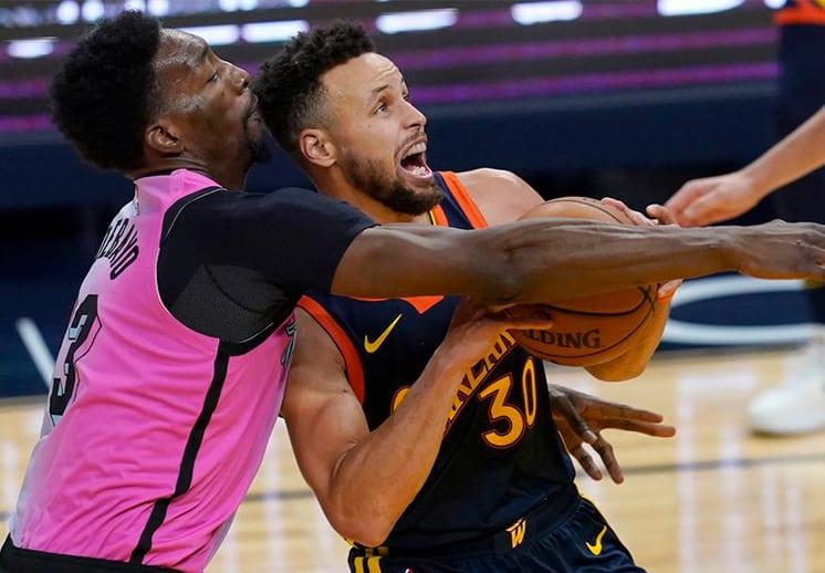 Stephen Curry acabó con el Heat, Juan Toscano colabora