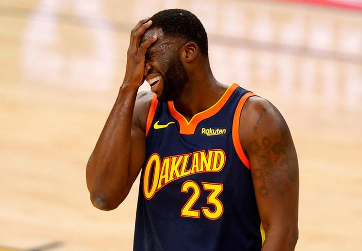 Draymond Green fue el villano en la derrota de los Warriors frente a los Spurs