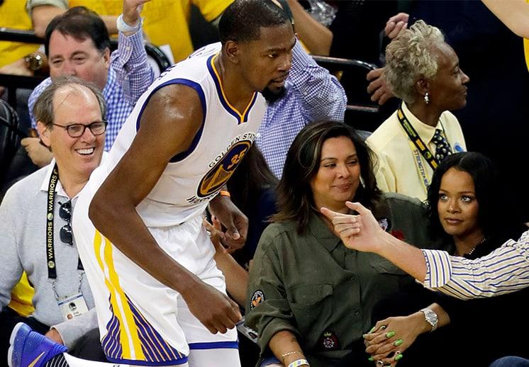 Rihanna: una reina de las duelas de la NBA