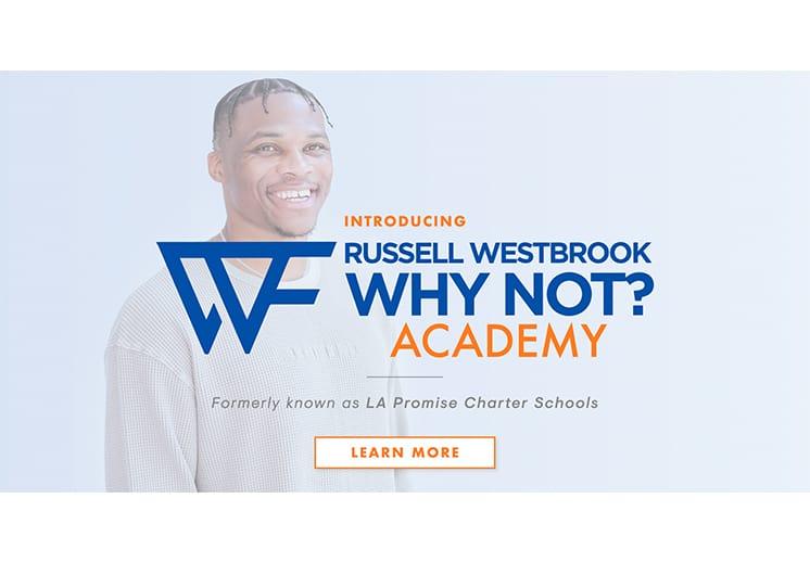Russell Westbrook abrió una escuela en el Sur de Los Angeles