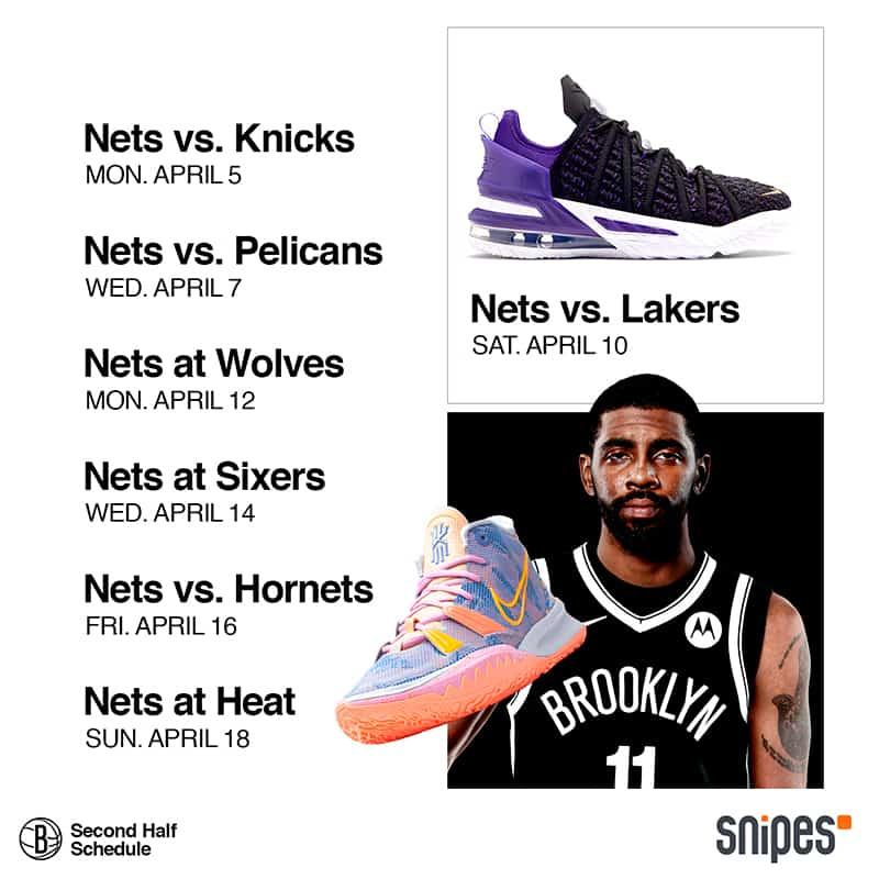 Los Nets se lucen presentando su calendario con sneakers 4