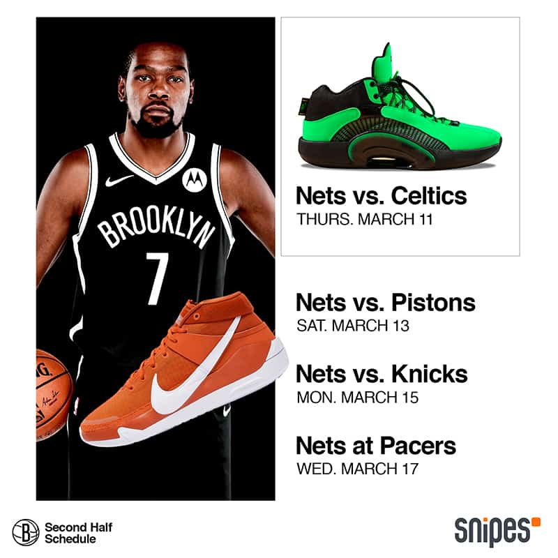 Los Nets se lucen presentando su calendario con sneakers 1