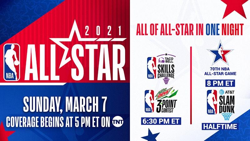 Es oficial: el NBA All-Star Game se jugará el 7 de marzo 2