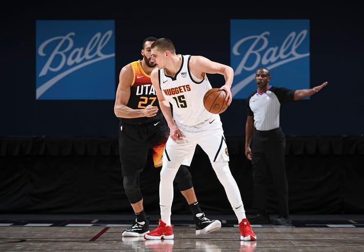 Nikola Jokic anotó 47 puntos para poner fin a la buena racha del Jazz de Utah