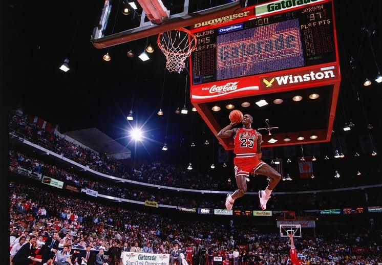 Michael Jordan y el Dunk Contest de 1988