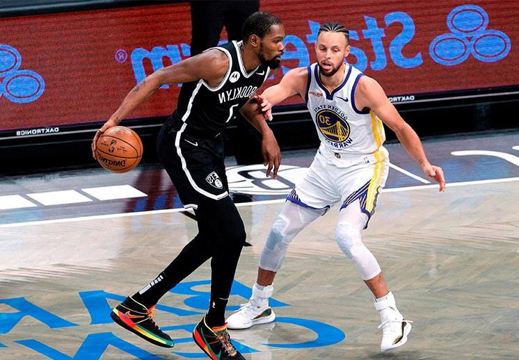 Kevin Durant salió con victoria en su regreso a la casa de los Warriors