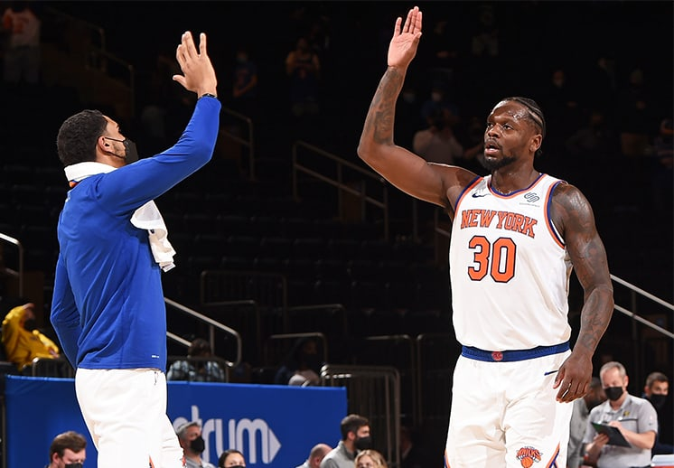 Los fans de los Knicks enloquecieron por el buen paso de su equipo