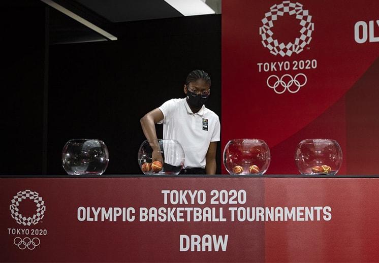 Definen los grupos en el basquetbol de los Juegos Olímpicos de Tokio DEST