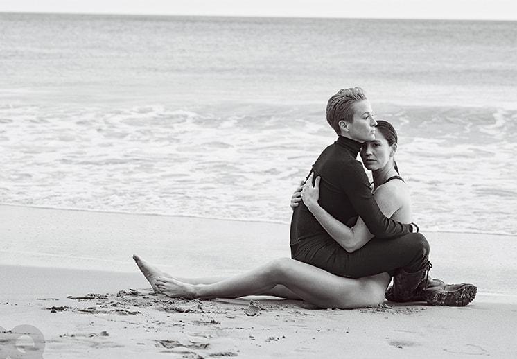 Sue Bird y Megan Rapinoe celebran el mes del amor