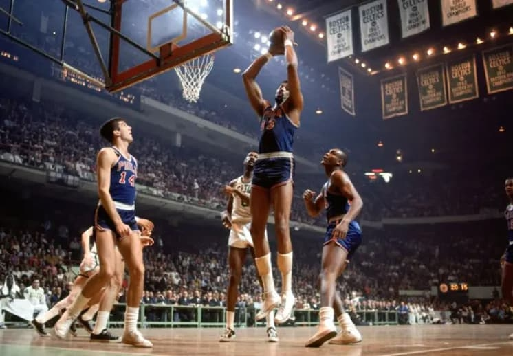 Wilt Chamberlain y sus récords imbatibles
