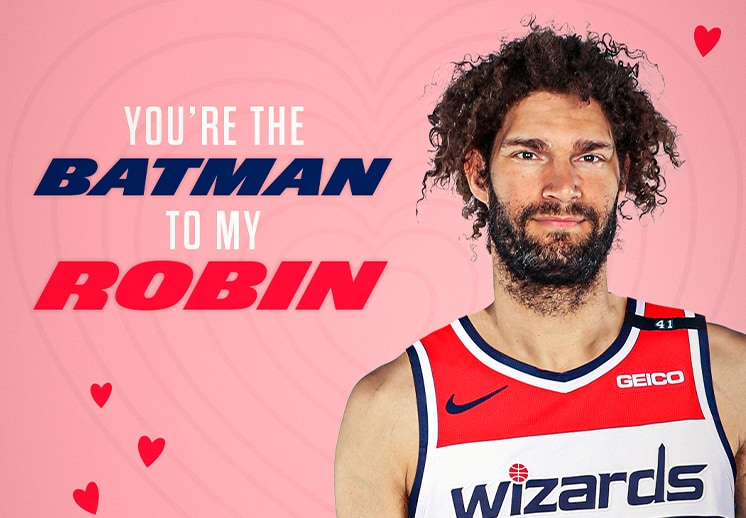 Los Wizards y sus postales para el Día de San Valentín