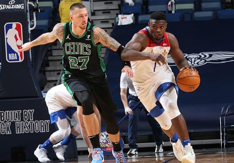 El histórico regreso de los Pelicans ante Celtics