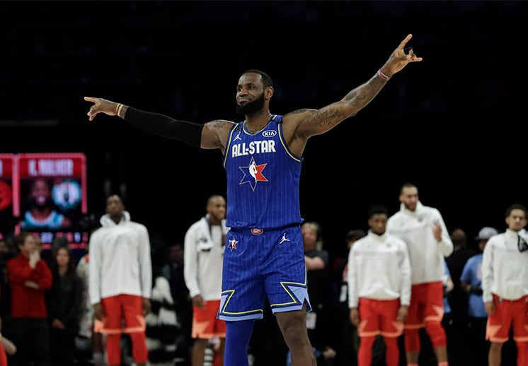 Team LeBron James vs Team Kevin Durant: Así quedaron los equipos para el NBA All Star