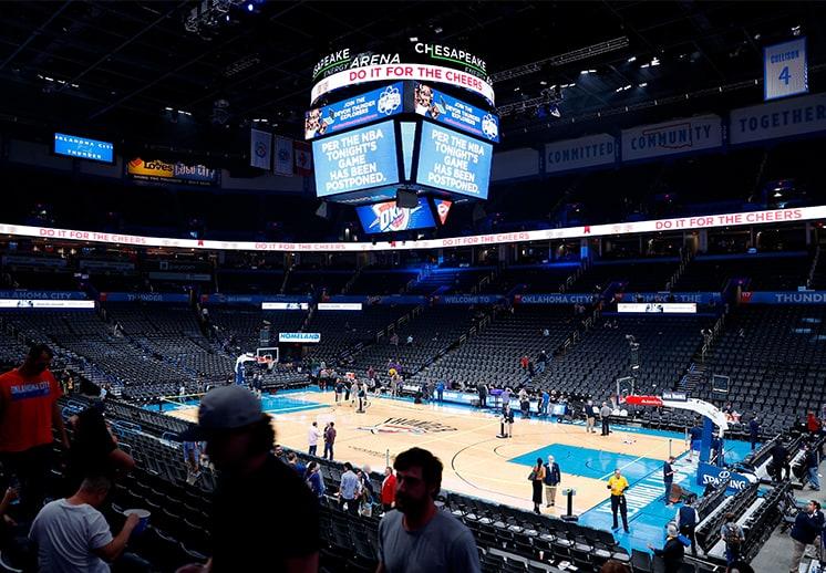 El día que el coronavirus detuvo a la NBA
