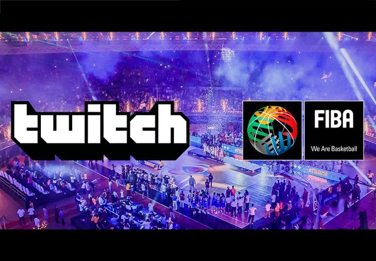 FIBA y Twitch anuncian colaboración