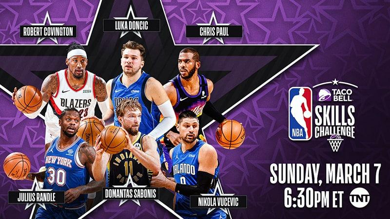 El elenco de las otras actividades del NBA All-Star Game 2021 3