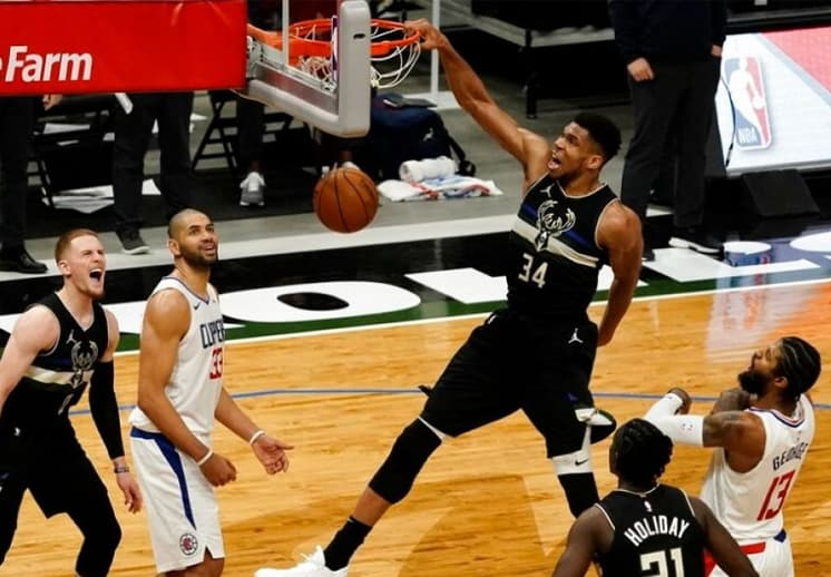Jornada con jugadas espectaculares en la NBA