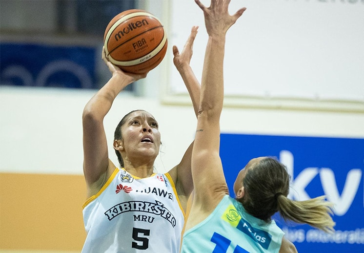 Jacqueline Luna-Castro sigue soñando con el título en Lituania