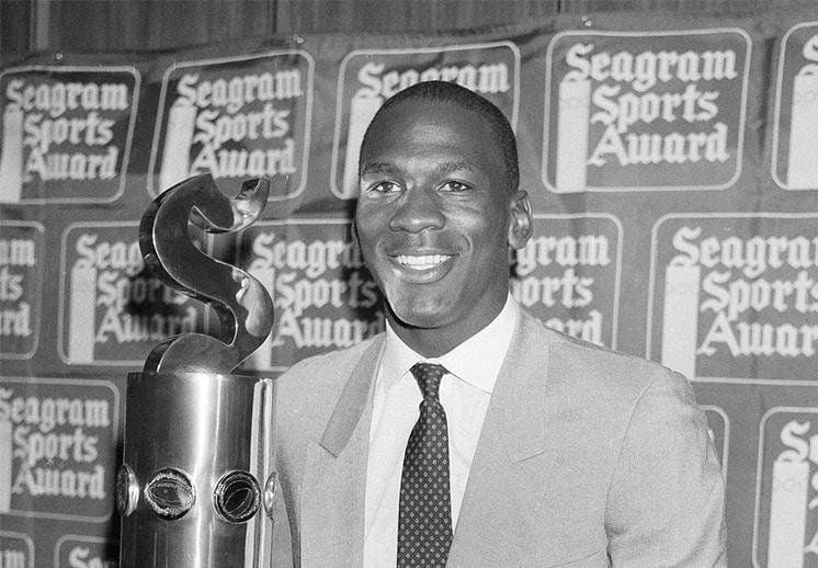 El trofeo que Michael Jordan ganó gracias a una computadora