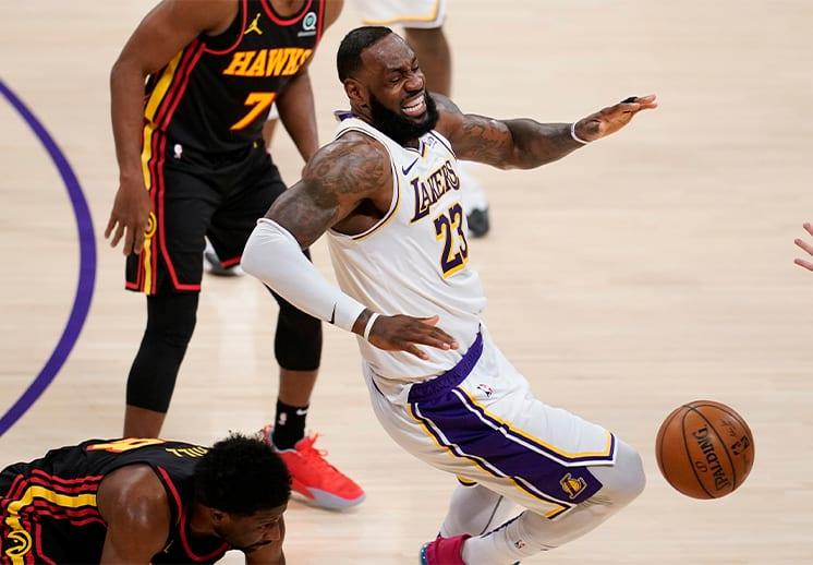 LeBron James fuera por lesión de forma indefinida