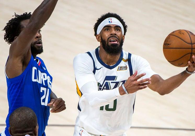Sale Booker por lesión, Mike Conley toma su lugar en el NBA All-Star Game