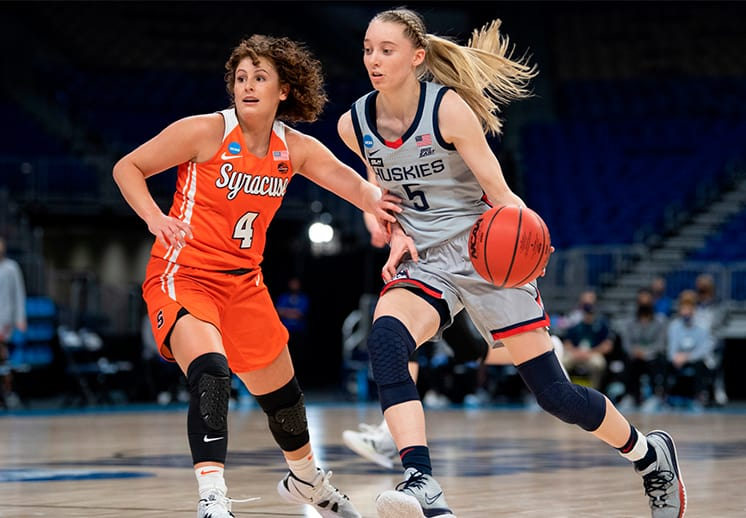 Los duelos del Sweet 16 en la NCAA femenil