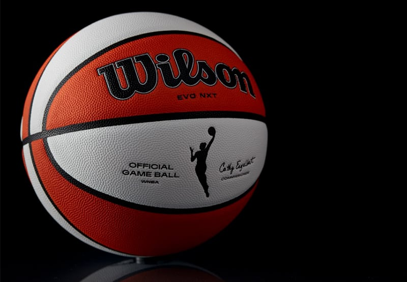 nuevo Balon Wilson en la WNBA