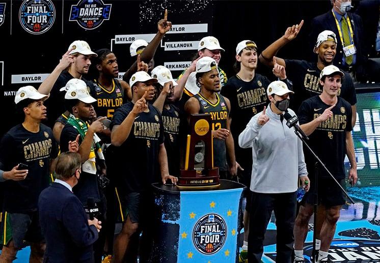 Baylor se coronó campeón del torneo de la NCAA