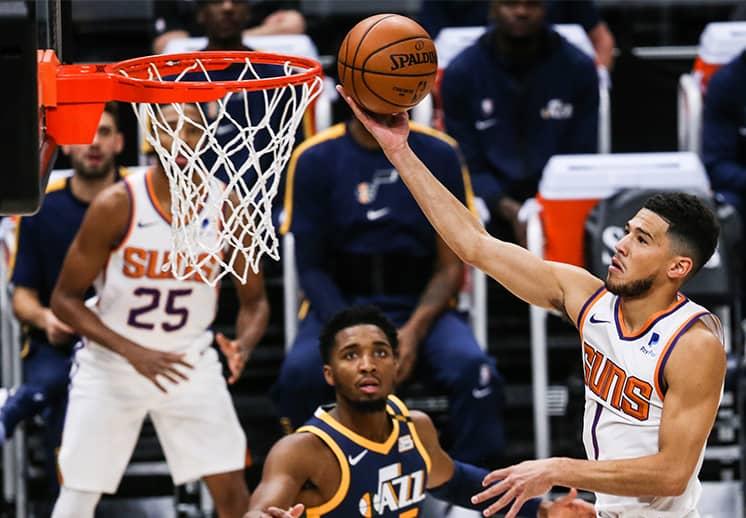 Jazz vs Suns de poder a poder en el Oeste