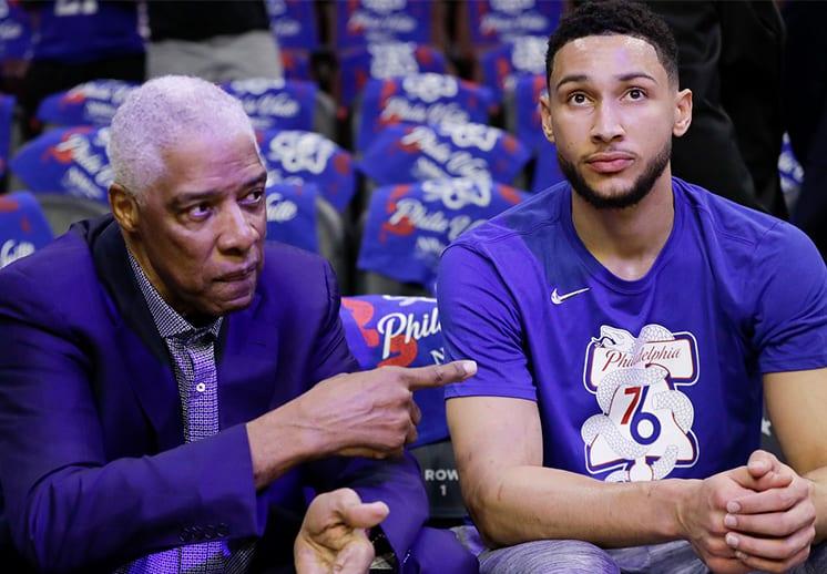 Dr. J apuesta por los Sixers y tunde a los Nets y Lakers