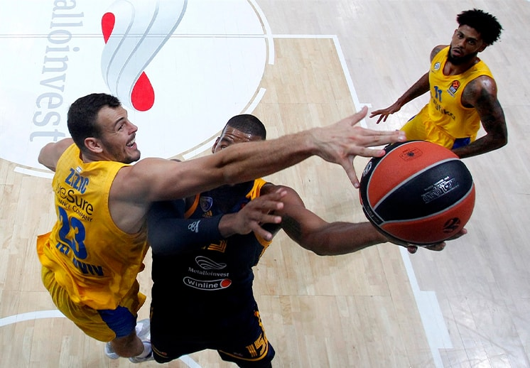 Las 10 jugadas más espectaculares de temporada regular en la Euroleague