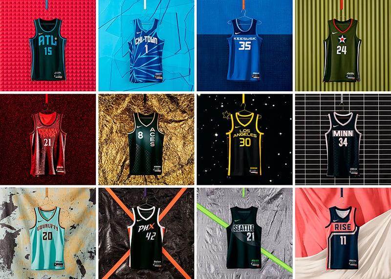 Nike presenta nuevos uniformes de la WNBA 1