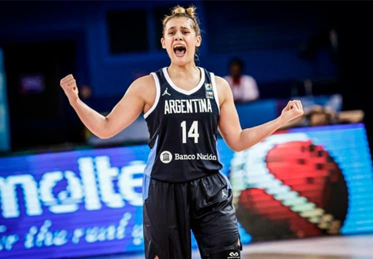 Florencia Chagas: La primera argentina seleccionada en el Draft de la WNBA