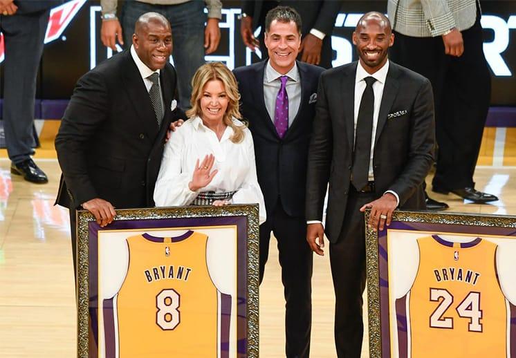 Los cinco Lakers más importantes de la historia según Jeanie Buss
