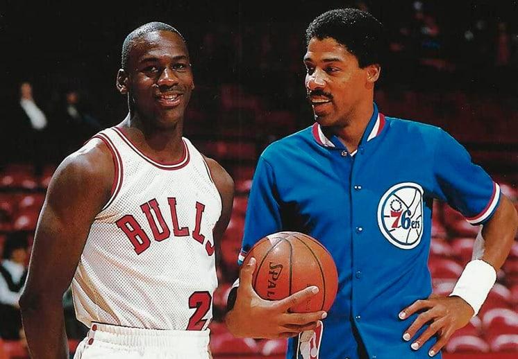 Dr J dejó fuera a Michael Jordan y LeBron James de su top 5 de mejores jugadores