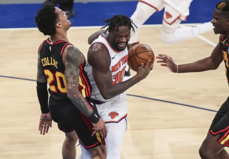 Nadie más encendido que los Knicks