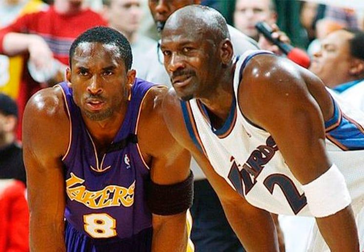 Michael Jordan presentará a Kobe Bryant en el Salón de la Fama