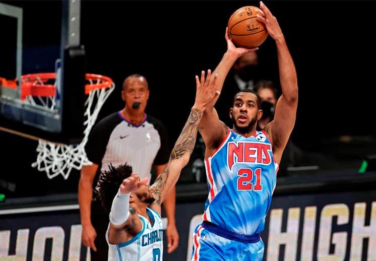 El debut de LaMarcus Aldridge con los Nets de Brooklyn