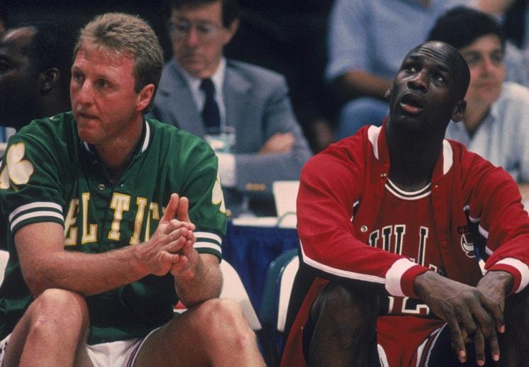 El día que Larry Bird se rindió ante Jordan
