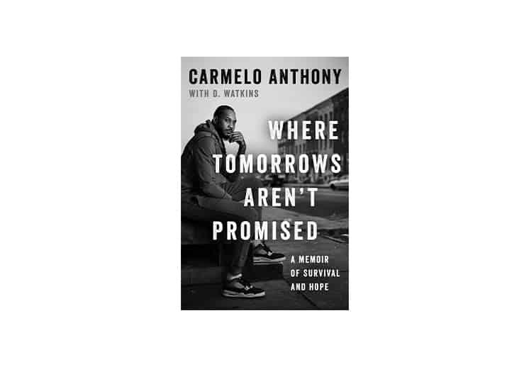"Carmelo Anthony presenta su libro ""Where Tomorrows Aren't Promised"""