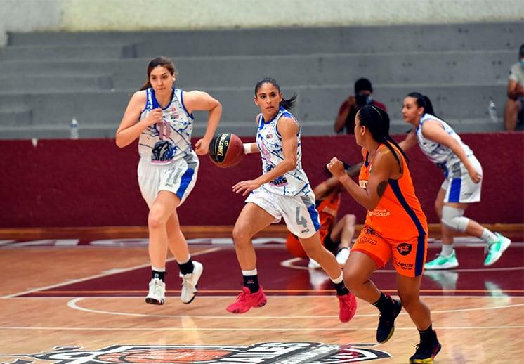 Tres invictas en la Liga Mexicana de Baloncesto Profesional Femenil