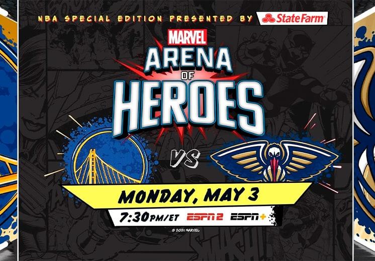 Los Avengers llegarán a la NBA DEST