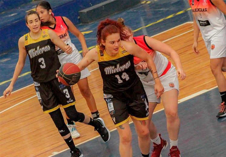 Mieleras el único invicto en la Liga Mexicana de Baloncesto Profesional Femenil