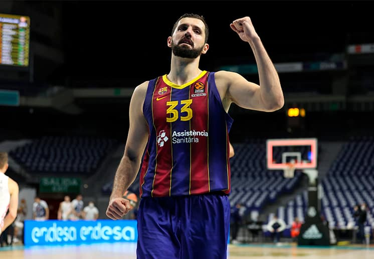 Nikola Mirotic el MVP de marzo en Euroleague