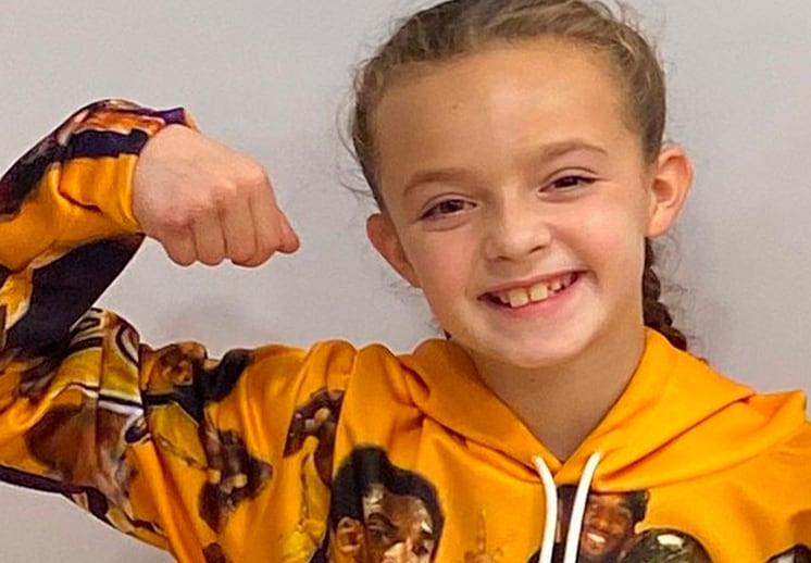 Olivia Harness la niña que quiere jugar en la NBA